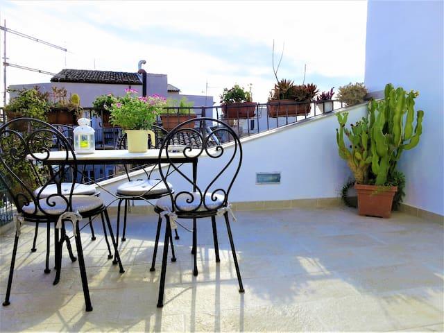 Miramare with private terrace