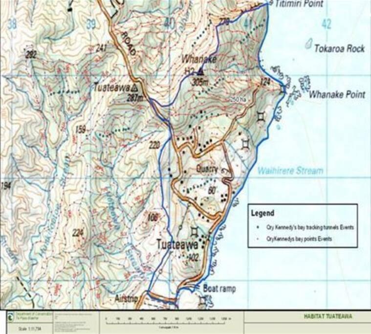 Map of Tuateawa.