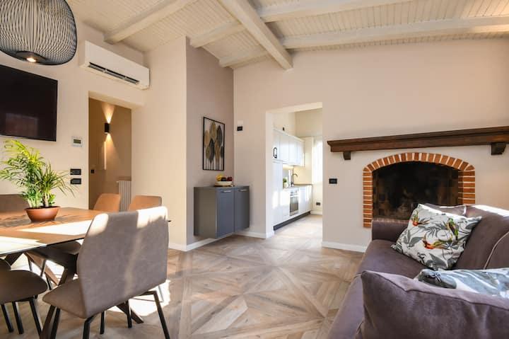 Raffinata e romantica suite in Brescia centro