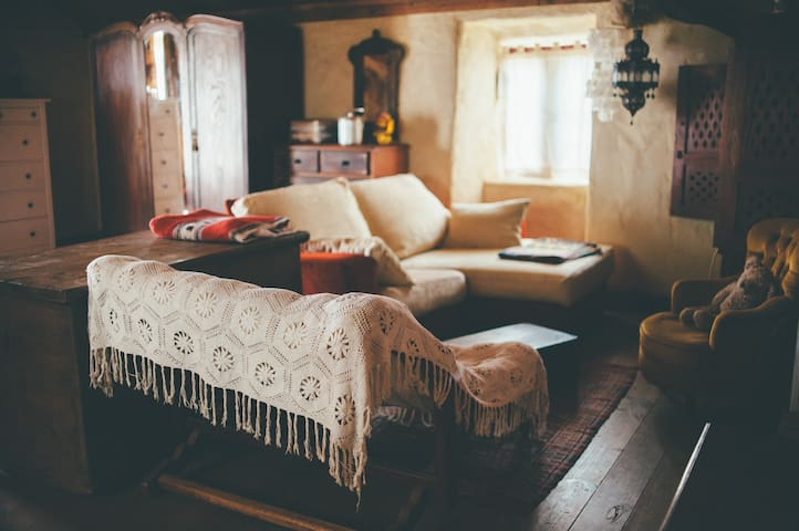 Habitación acogedora, refugio rural - A Coruña - Rumah