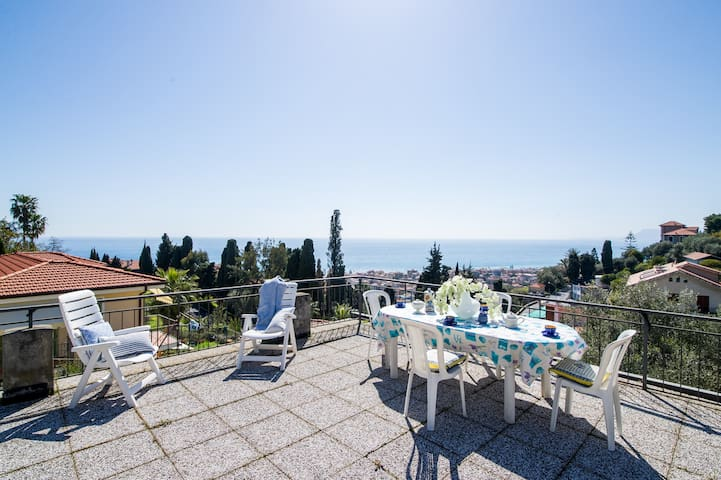 ☆Indipendent House ✔Roof-Terrace ✔Sea View ✔WiFi