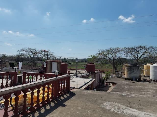vista 2 de la terraza