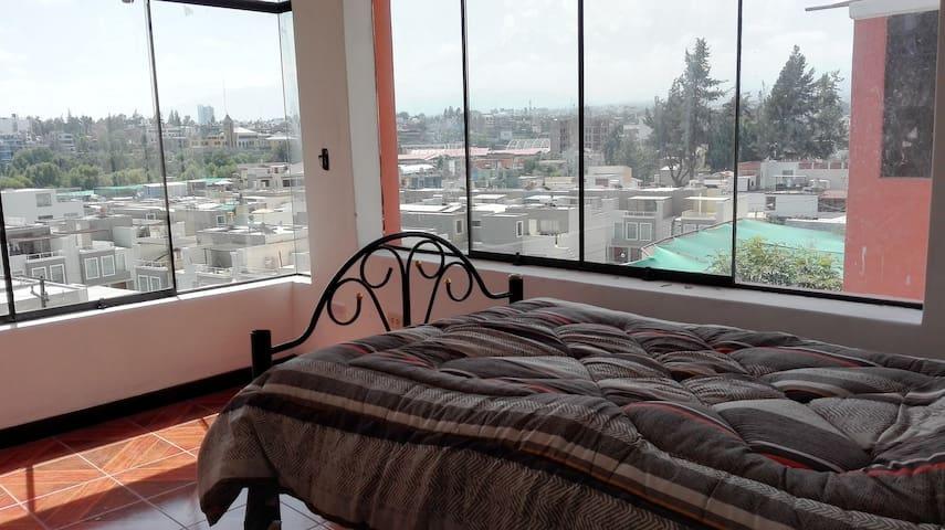 Habitaciones con hermosa vista - Arequipa - Casa particular