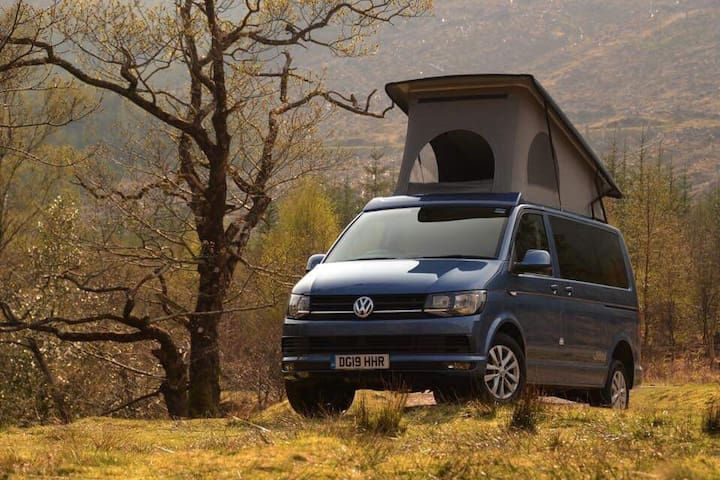 Hampshire Camper Hire - VW T6 Jöbl 4 Berth Camper