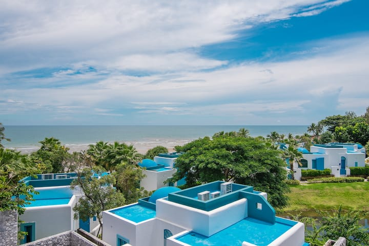 ★Chill Family Getaway★Private beach access★Seaview