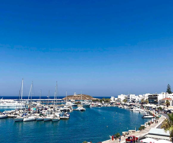 Perfectly located Apartment in Hora Naxos - A