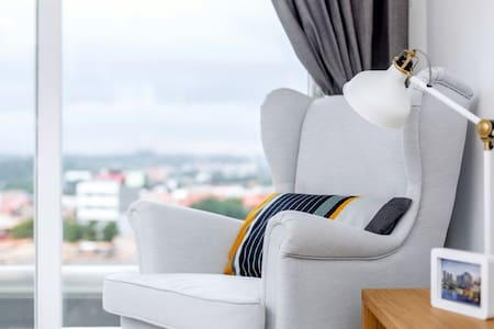 1 Bed Apt. at The Gallery, Tetteh Quarshie - Accra - Wohnung