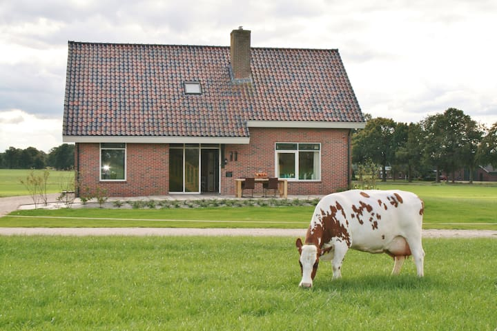 Vakantiehuis, ruim en sfeervol, met speelruimtes! - Winterswijk Meddo - Casa