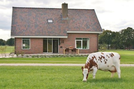 Vakantiehuis, ruim en sfeervol, met speelruimtes! - Winterswijk Meddo