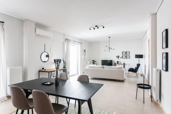 Superb & Comfy 2BD Apartment in Marousi