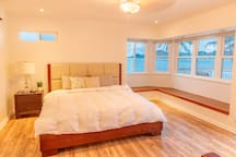 Relax in this ocean view room. Windows  open up to allow cool breezes in.