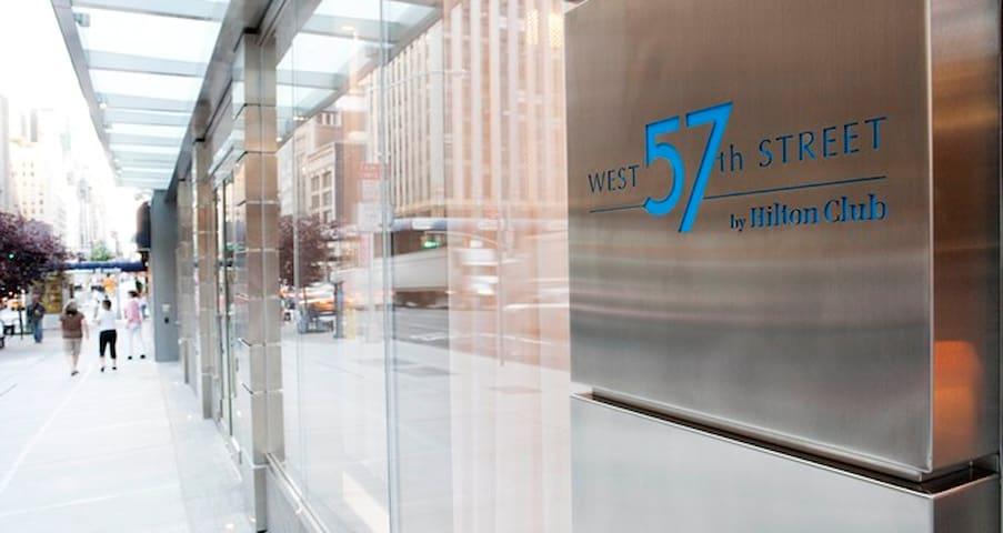 Luxurious studio - West 57th Street Club by Hilton