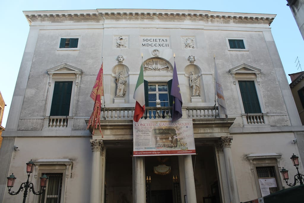 The famous Fenice theatre is just outside your door step