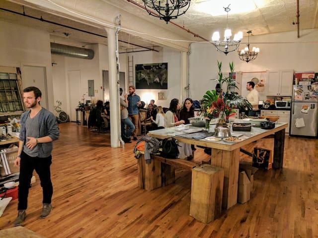Bushwick Artist Loft - Brooklyn - Loft