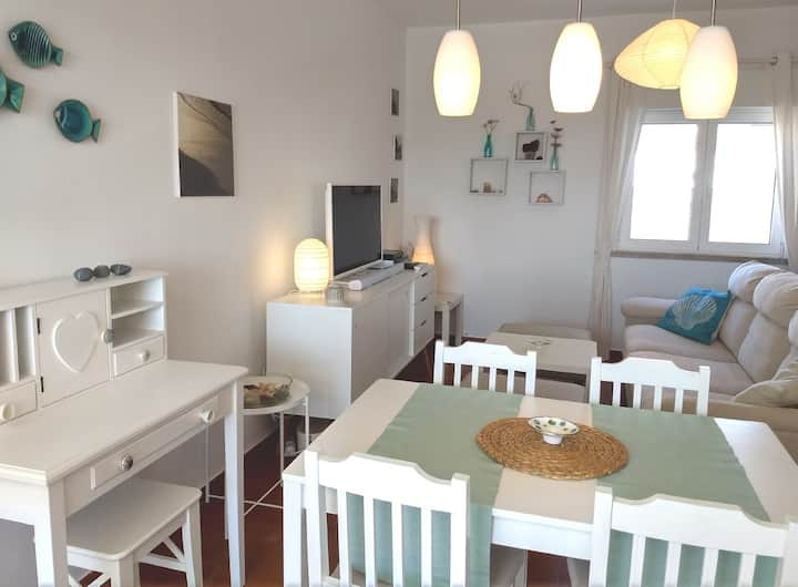 LOVE NEST sunny ocean view apartment near Arrifana