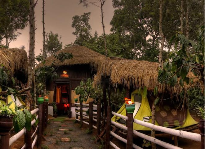 Coorg Evergreen County Adventure & Activities - Bittangala - Hut