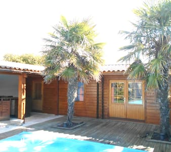 bungalow confortable proche spot de surf - Le Grand-Village-Plage