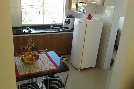 Apartamento mobiliado a cinco minutos do Inhotim. - Brumadinho - Appartement
