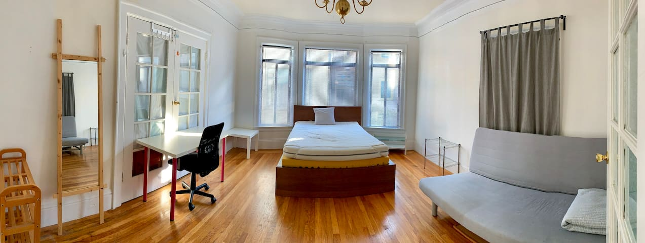Large Furnished Room For Rent in Inner Richmond