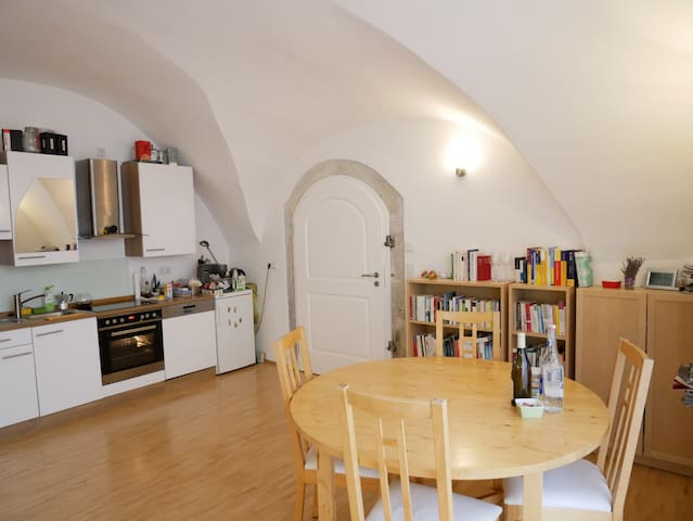 Centrally located historical flat