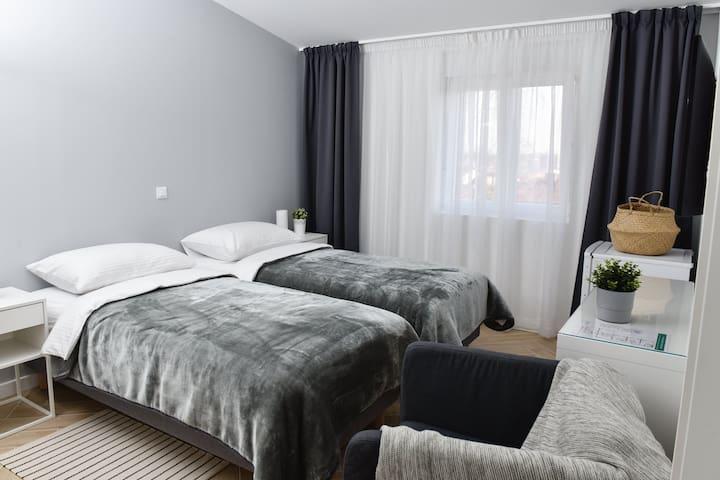 Rooms at Zajčeva 34 - Economy Twin Room