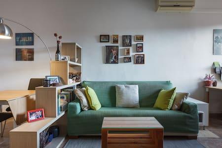 Cosy double room near Camp Nou & Sants station - Barcelona - Lakás