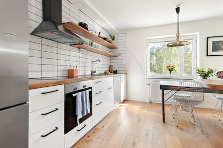 Modern apartment close to Stockholm city & nature