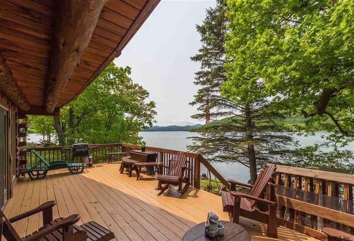 Ti's Bear Den on Beautiful Northern Lake George