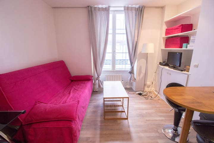 APPARTEMENT COSY & FONCTIONNEL A PARIS - CHATELET