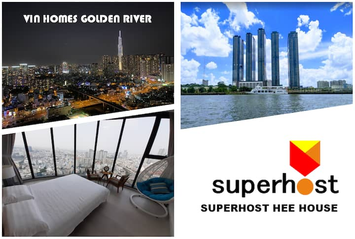 Luxury APT Golden River 2R River view(FREE주중청소)
