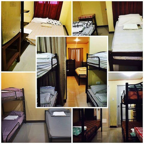 Transient hotel room for 6 persons near Airport