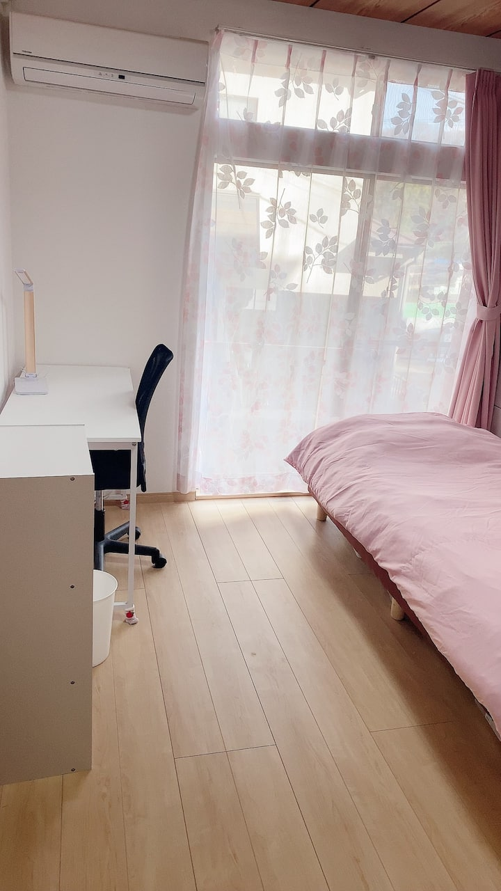 Room1 for woman 30min to Shinjuku station. 女性専用