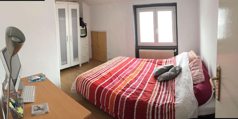 chambre rdc - Saint-Étienne - Apartment
