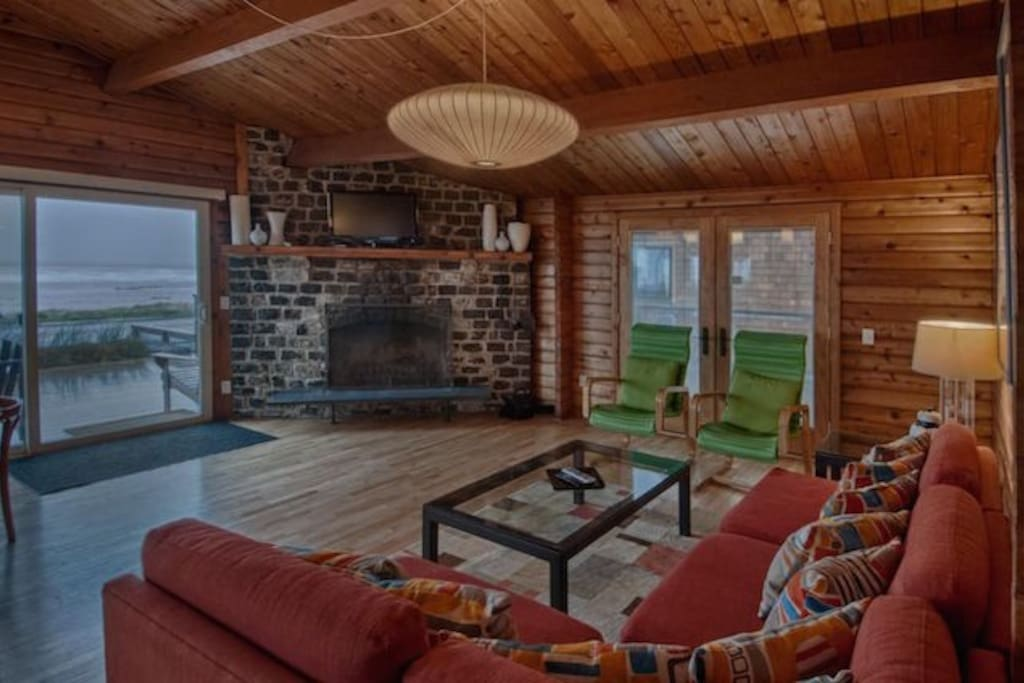 Kick back and enjoy charming updated comfort overlooking the beach