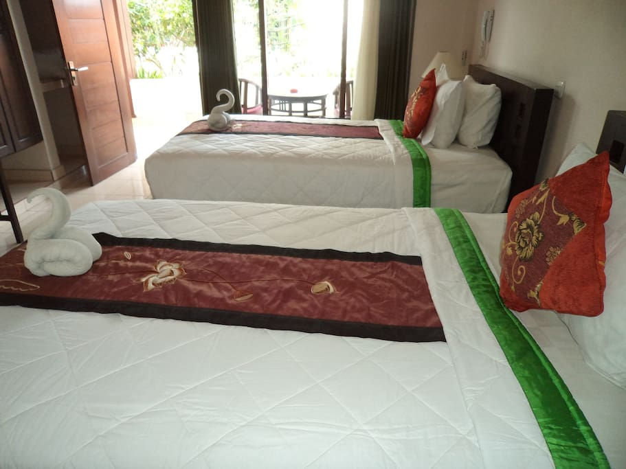 Beds can be modified into Twin or Double Bed
