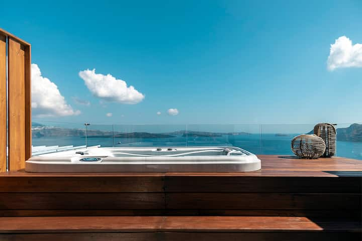 Suite Caldera View & Outdoor Jacuzzi(3 Elements)