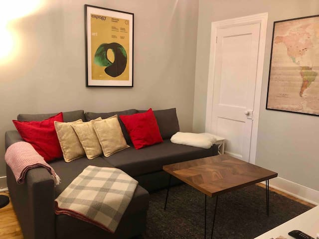 Chic, Renovated Unit with Parking & All Amenities
