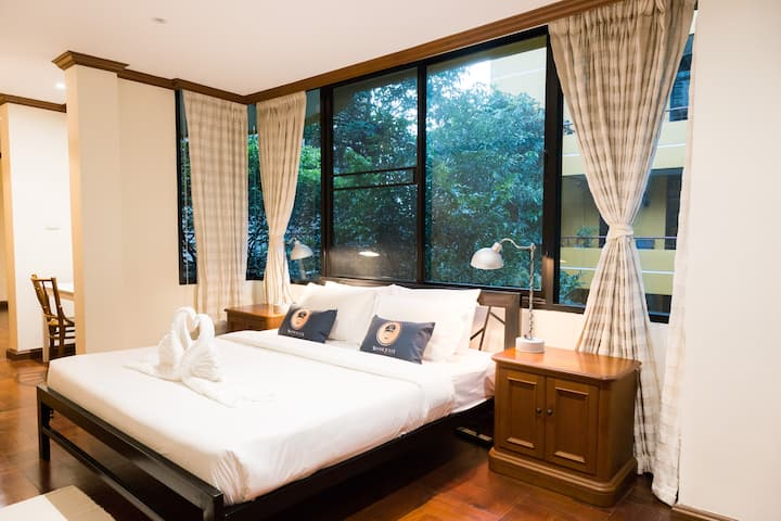 Luxury room/ 5 mins to BTS Thong Lor