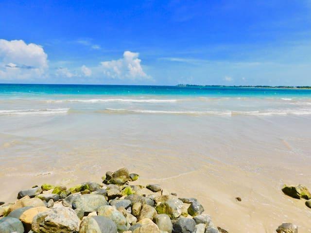 Beachfront Apartment Paradise