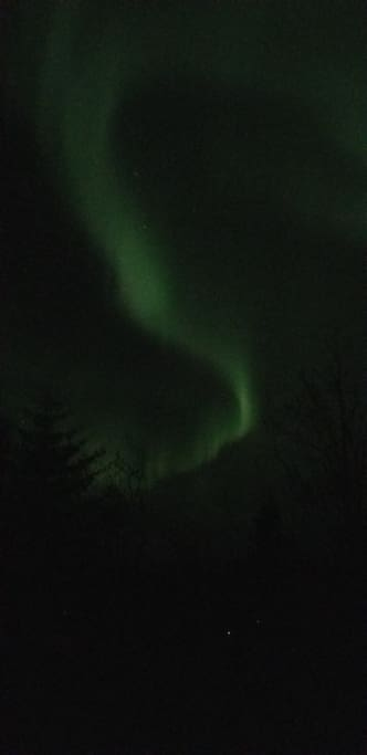 Northern lights viewing April 2018