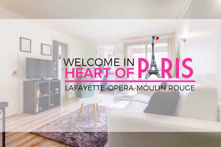 Center of Paris Galeries Lafayette & Moulin Rouge - Parijs - Appartement