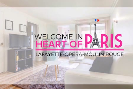 Center of Paris Galeries Lafayette & Moulin Rouge - Paris - Wohnung