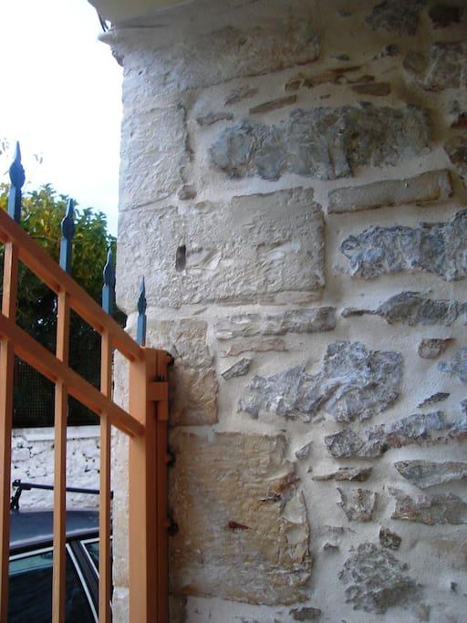 Charming Stone Exterior