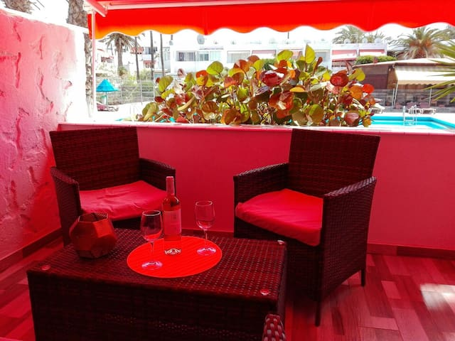 Geremy Superior Tenerife flat with pool! - Costa del Silencio - Apartment