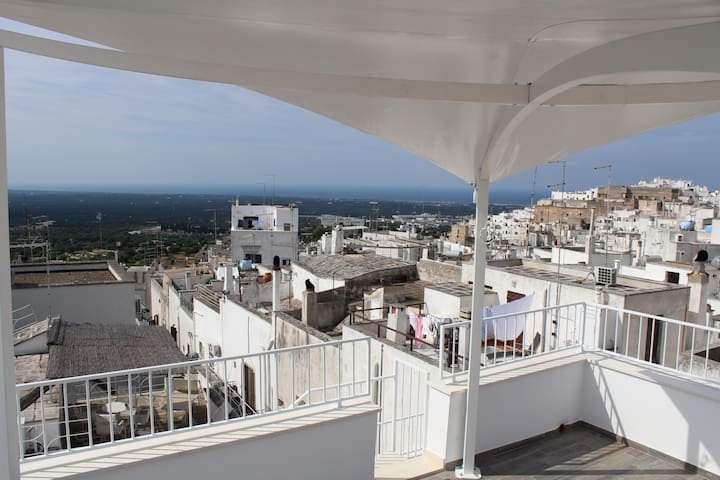 Panorama dal terrazzo-Overview from terrace