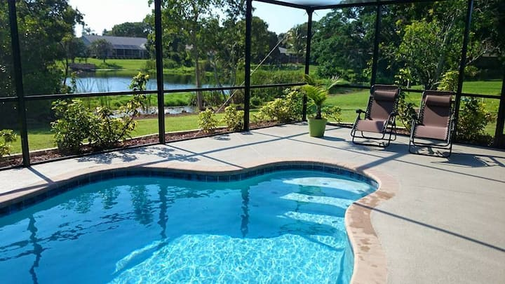 Beautiful 3BR Home/pool, 7miles An. Maria Beaches