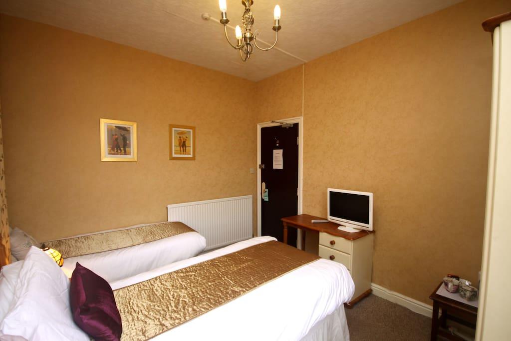 Light airy room