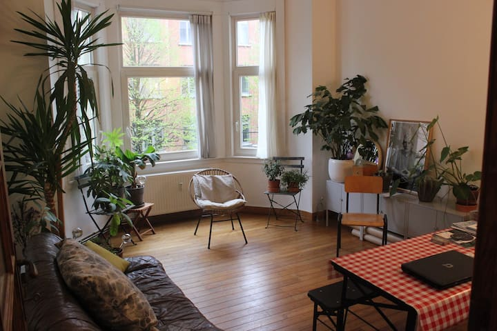 Lovely Large Bedroom in a heart of Brussels