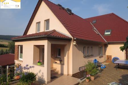 nahe Jena - Gästehaus Beutnitz  - Golmsdorf - Hus