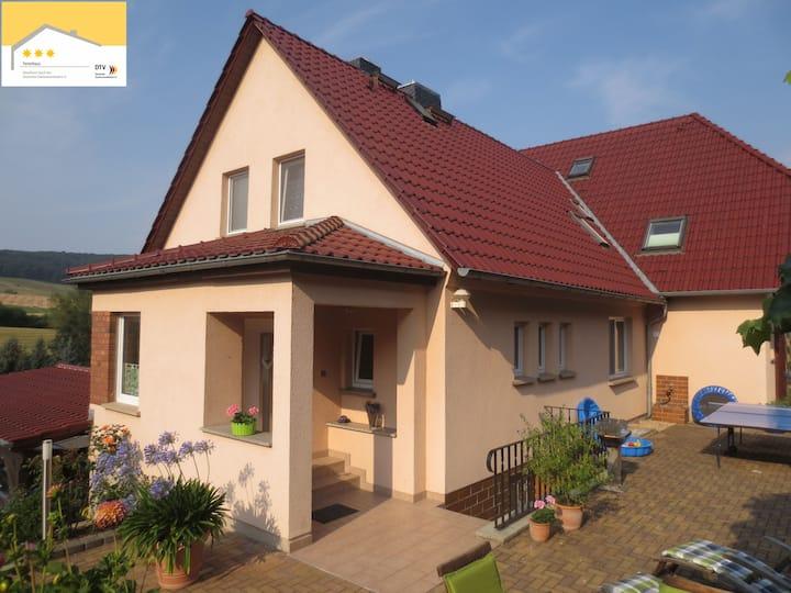 nahe Jena - Ferienhaus Beutnitz